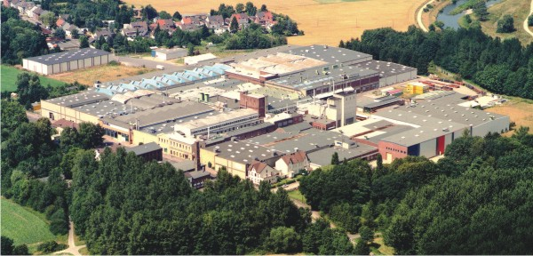 The Heimbach head quarter and manufacturing plant in Dueren, Germany.
