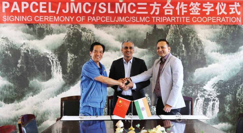 JMC Paper Tech Signs Tripartite Agreement With Papcel and SLMC