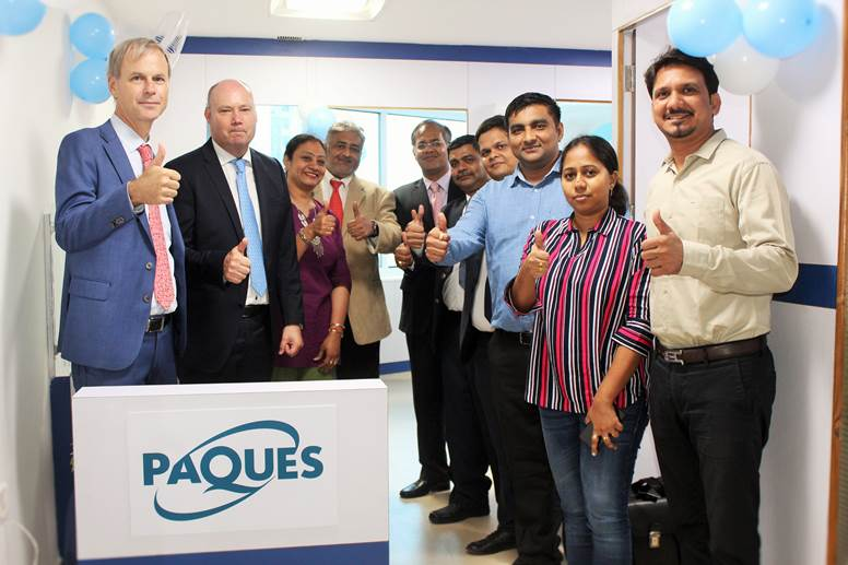 Paques Opens up North India Regional Operations