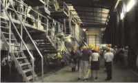 Visit of a Vietnamese Paper Mill by the French industrials