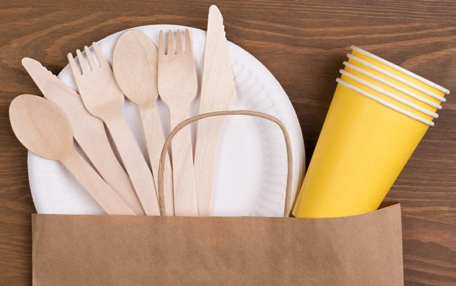 Single-Use Paper Based Packaging